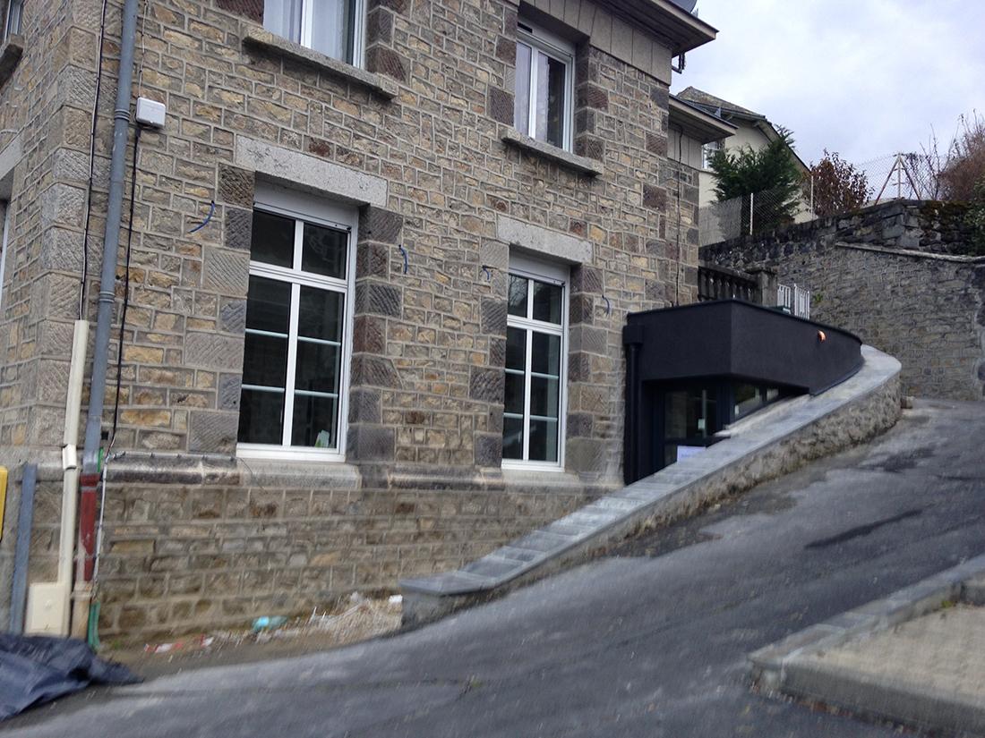Rénovation de la Mairie de Brommat