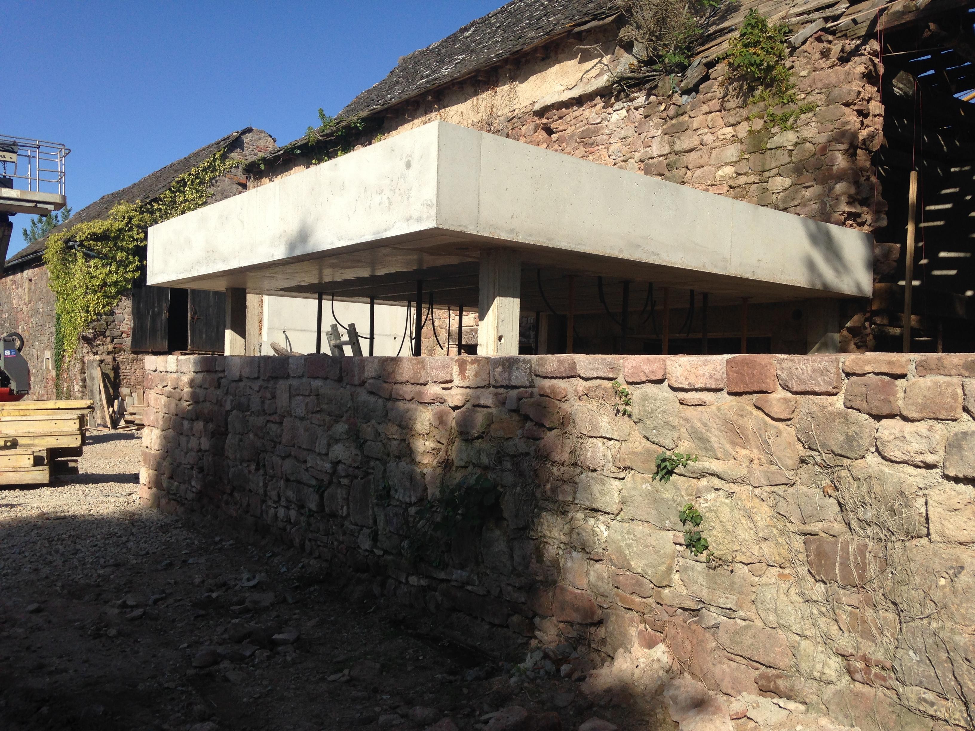 Rénovation d'une maison d'habitation à Rodez